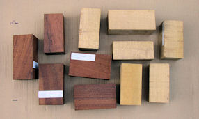 Beefwood & Ivory Needlewood Turning Special