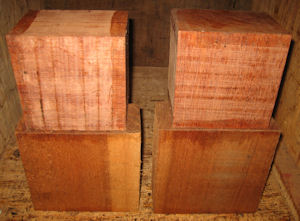 Bubinga & Spanish Cedar Blocks